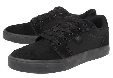 Tênis DC Shoes Anvil 2 LA Black Black - DC SHOES - TÊNIS - CALÇADOS ... 43a3c379bdc16
