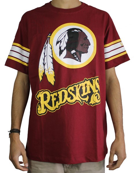 7f1275e01 Camiseta New Era Washington Redskins Vintage Vermelho Escuro - NEW ...