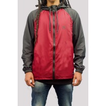 Jaqueta Hurley Windbreaker Speed Vinho