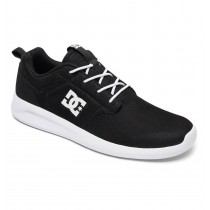 Tênis DC Shoes Midway Black/White/Black